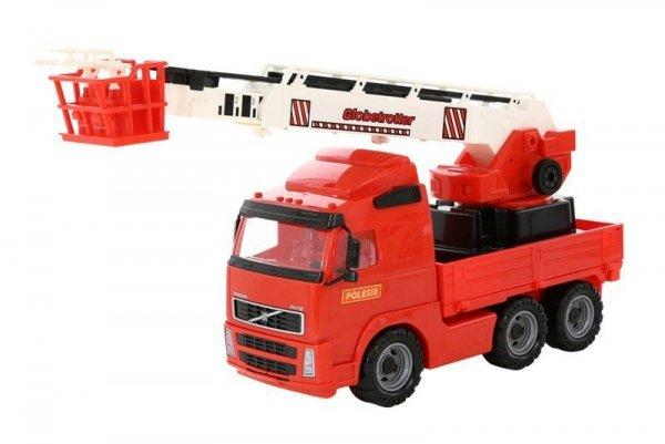 WADER-POLESIE Pojazd Volvo Straż pożarna w siatce