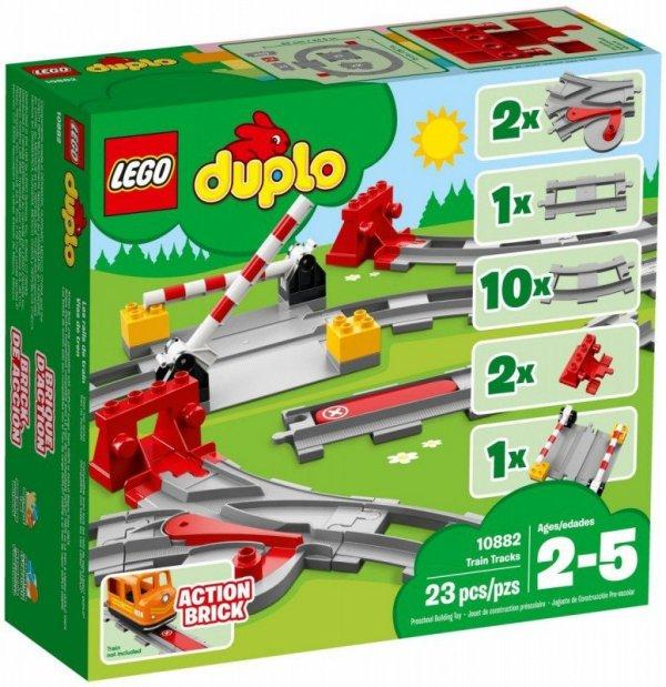 LEGO Klocki DUPLO 10882 Tory kolejowe