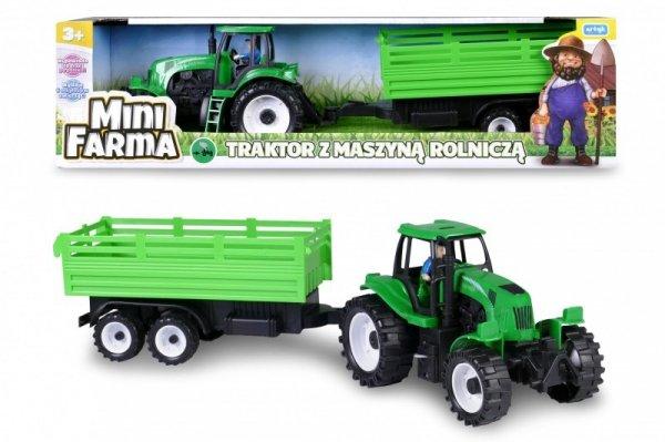 Artyk Traktor z maszyną rolniczą, mówiący po polsku