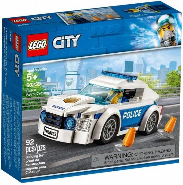 Klocki City 60239 Samochód policyjny