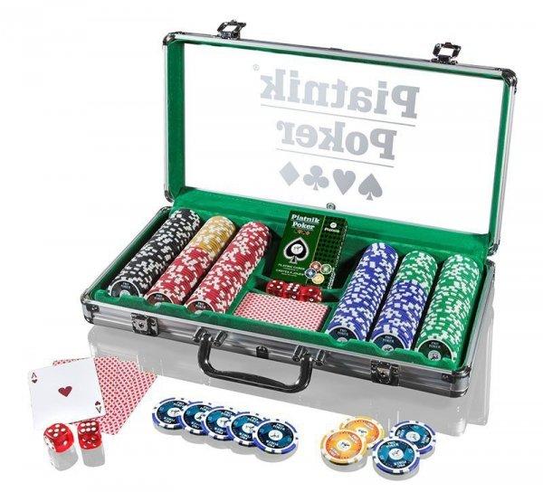 Zestaw do pokera 300 żetonów