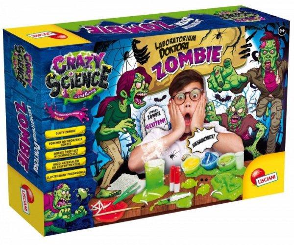 Lisciani Zestaw edukacyjny Crazy Science - Laboratorium Doktora Zombie