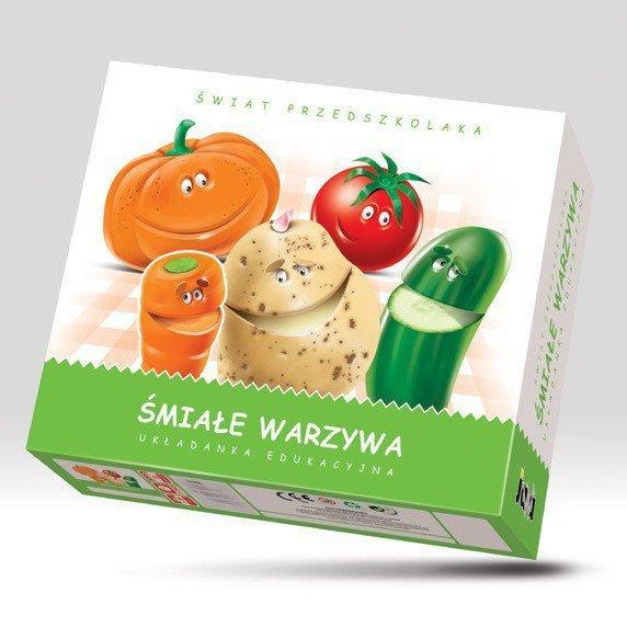 Jawa Układanka Śmiałe Warzywa