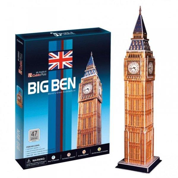Cubic Fun Puzzle 3D Zegar Big Ben