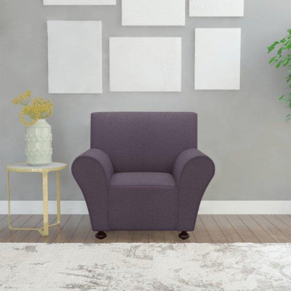 Elastyczny pokrowiec na sofę, z dżerseju, szary