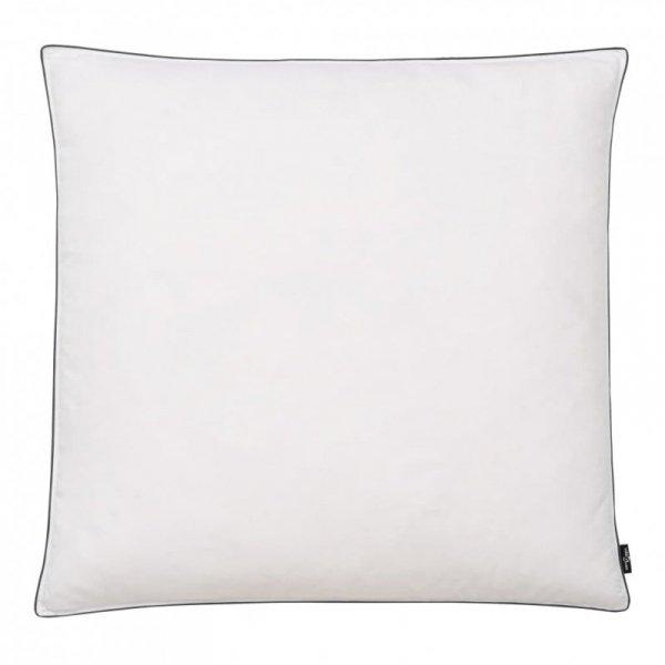 Poduszki, 2 szt., wypełnienie z puch/pierze, 80x80 cm, białe