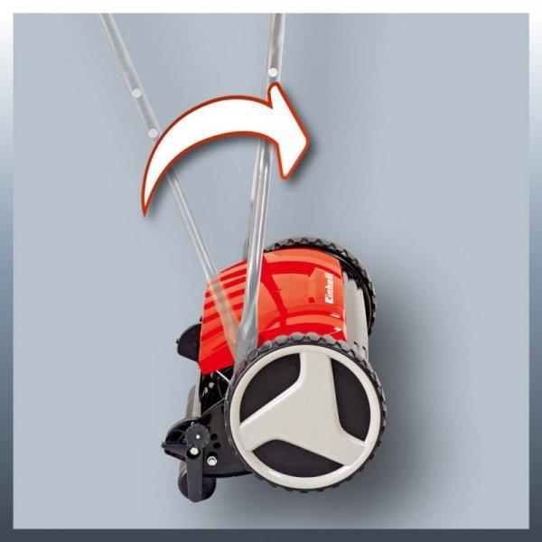 Einhell Kosiarka ręczna do trawy GE-HM 38 S, czerwona