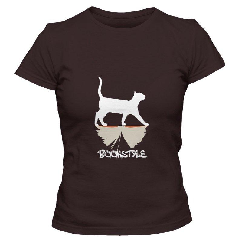 Koszulka damska BOOKSTYLE Cat