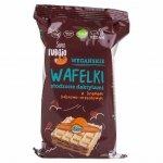 Wafelki słodzone daktylami z kremem kakaowo-orzechowym Super Fudgio BIO, 120g