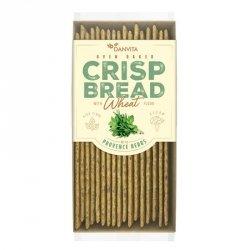 Płaskie chlebki pszenne z ziołami prowansalskimi Danvita, 130g