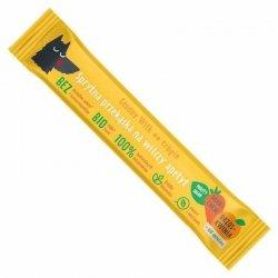 Batonik marchew-brzoskwinia ze spiruliną Głodny Wilk, 20g