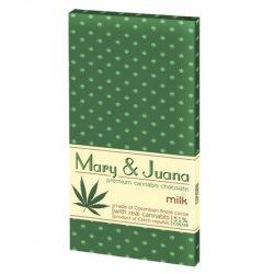 Czekolady Mary & Juana - mleczna Euphoria, 80g