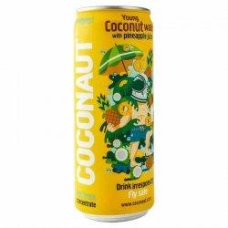 Woda kokosowa z młodego kokosa z sokiem ananasowym NFC Coconaut, 320ml