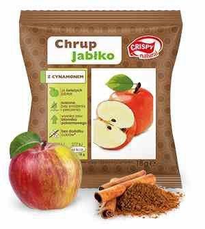 Chipsy z jabłka z cynamonem Crispy Natural, 18g