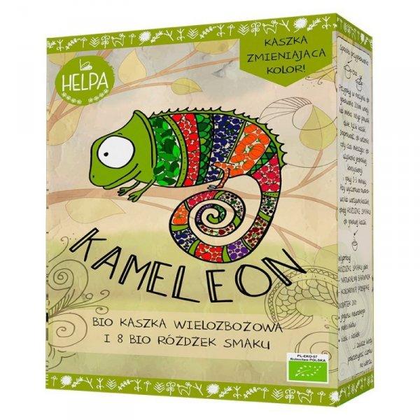 Kameleon - wielozbożowa kaszka z 8 różdżkami smaku Helpa BIO, 316g