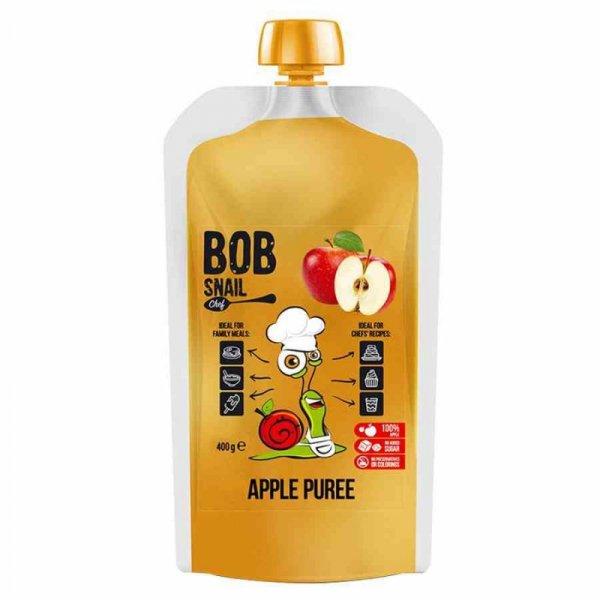 Puree z jabłka 100% owoców Bob Snail, 400ml