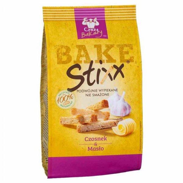 Paluszki chlebowe Czosnek i Masło BAKE Stixx, 60g