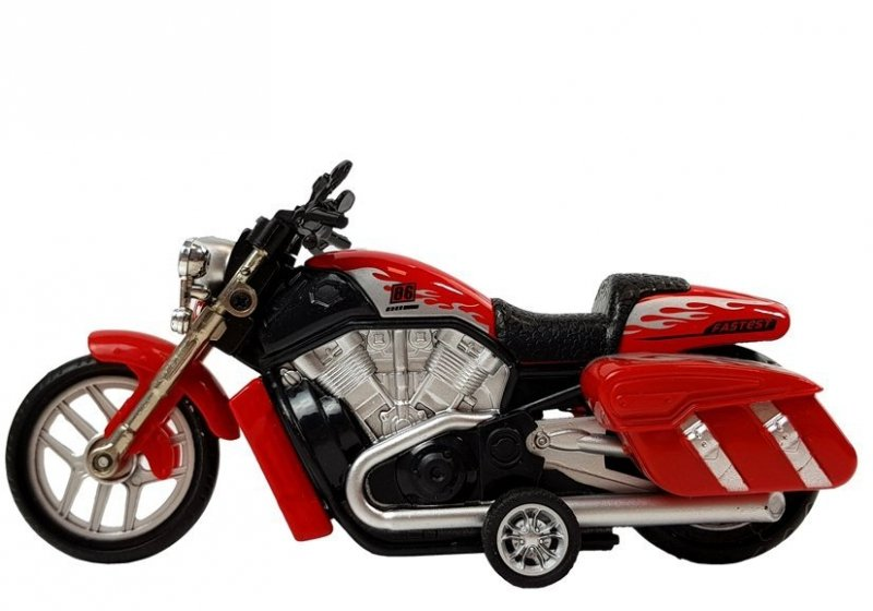 Motocykl Motor z napędem Dźwięki Światła 1:16