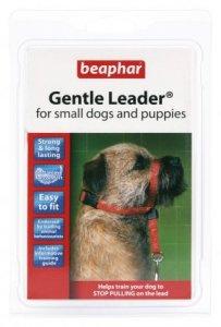 BEAPHAR GENTLE LEADER S - obroża mała czerwona dla psów