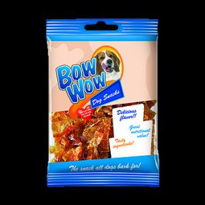 BOW WOW Kolagenowe chipsy z wątróbką drobiową [BW367] 60g