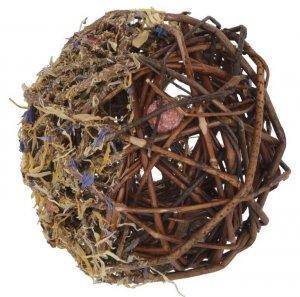 KERBL Piłka z wikliny, 10 cm [81777]