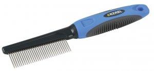 KERBL Grzebień Premium, cienki, włosy drobne [81906]