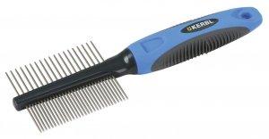 KERBL Grzebień Premium, cienki, włosy drobne/grube [81907]
