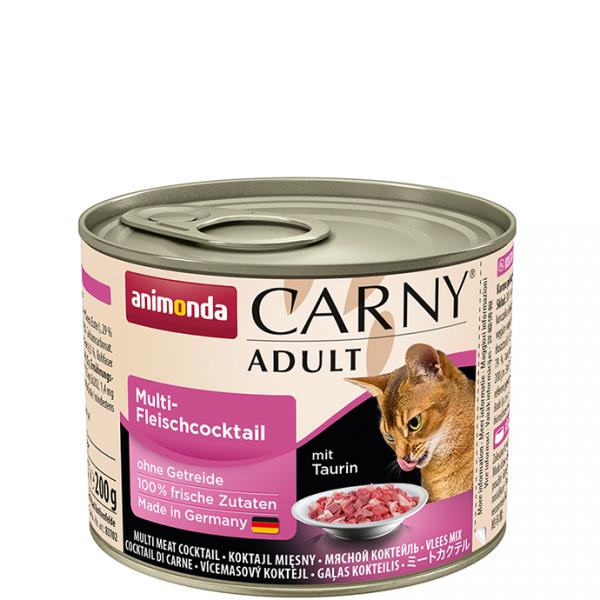 ANIMONDA Carny Adult puszka mieszanka czterech mięs 200 g
