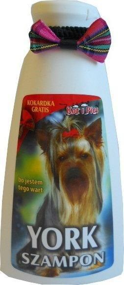 KOT I PIES YORK szampon dla Yorków z kokardką 150 ml