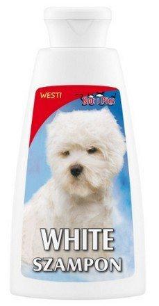 KOT I PIES WHITE szampon delikatnie wybielający 150 ml