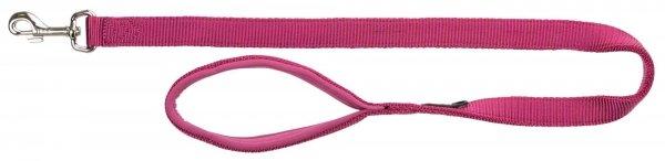 TRIXIE Smycz Premium, L–XL: 1.00 m/25 mm, fioletowa orchidea [TX-200320]