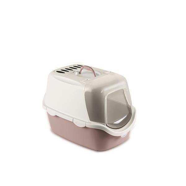 ZOLUX Toaleta CATHY Easy Clean z filtrem kol. pudrowy róż [98648]
