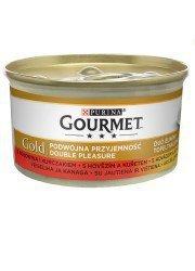 GOURMET GOLD - wołowina i kurczak 85g