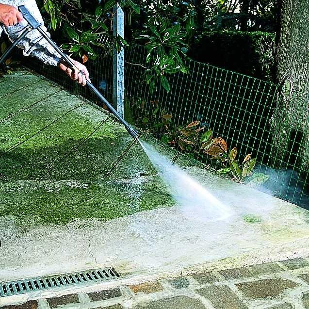 Płyn do usuwania tłustych plam z kostki brukowej, podjazdu i betonu - Special Bruk Clan 1 L