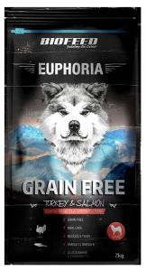 BIOFEED Euphoria Adult Dog GF TURKEY&SALMON 300g