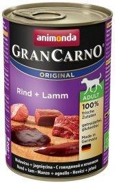 ANIMONDA GranCarno Orginal Adult puszki wołowina jagnięcina 400 g
