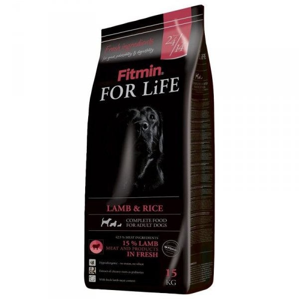FITMIN dog For Life Lamb & Rice 15kg