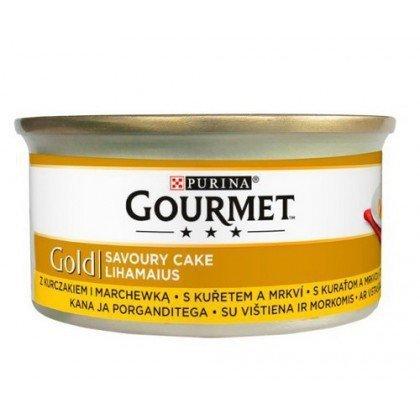 GOURMET GOLD - Savoury Cake z kurczakiem i marchewką 85g