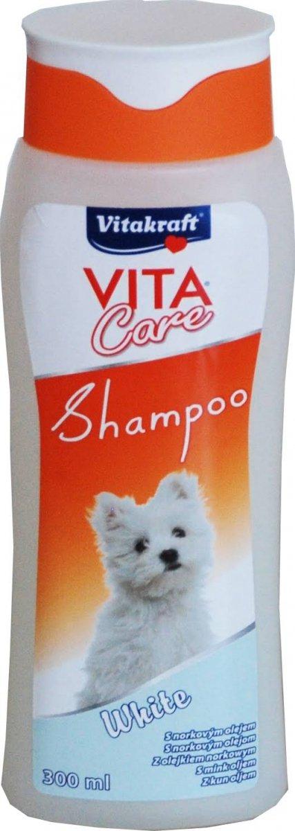 VITAKRAFT VITA CARE 300ml szampon d/białych ras