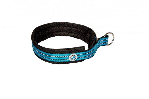 ALL FOR DOGS Sportowa obroża półzaciskowa Niebieska 40