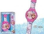 Zegar ścienny Kraina Lodu  jak ręczny Disney Frozen