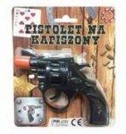 Pistolet NA SPŁONKĘ rewolwer na kapiszony