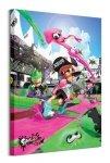Splatoon 2 (Game Cover) - obraz na płótnie