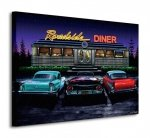 Roadside Diner - Obraz na płótnie