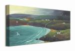 Przybrzeżne wzgórza - obraz na płótnie