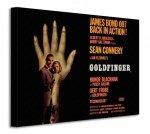 James Bond (Goldfinger - Hand) - Obraz na płótnie