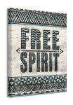 Free Spirit - obraz na płótnie