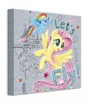 My Little Pony (Let's Fly) - obraz na płótnie