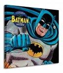 Batman (45rpm Record) - Obraz na płótnie