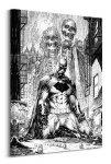 DC Comics (Batman Haunted),nietoperz,bat - Obraz na płótnie